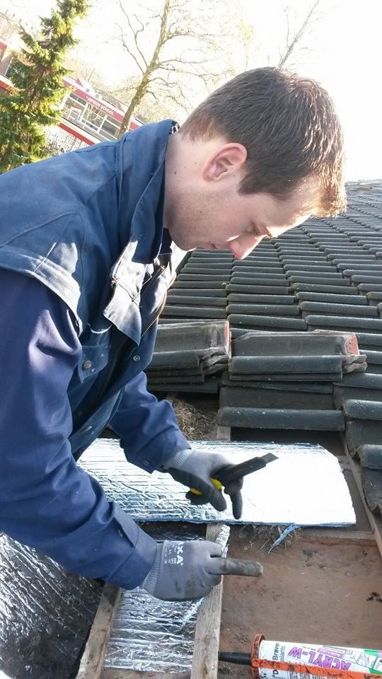 Woningstichting Woonschakel. 400 daken mussennesten afbakenen voor dakisolatie 5 maart