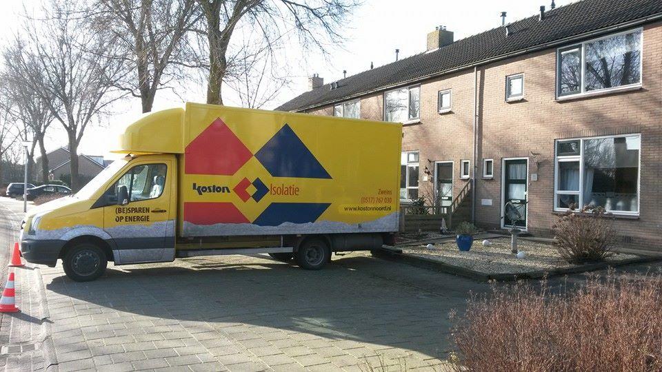 Spouwisolatie Oosterhaule 5-2-2014