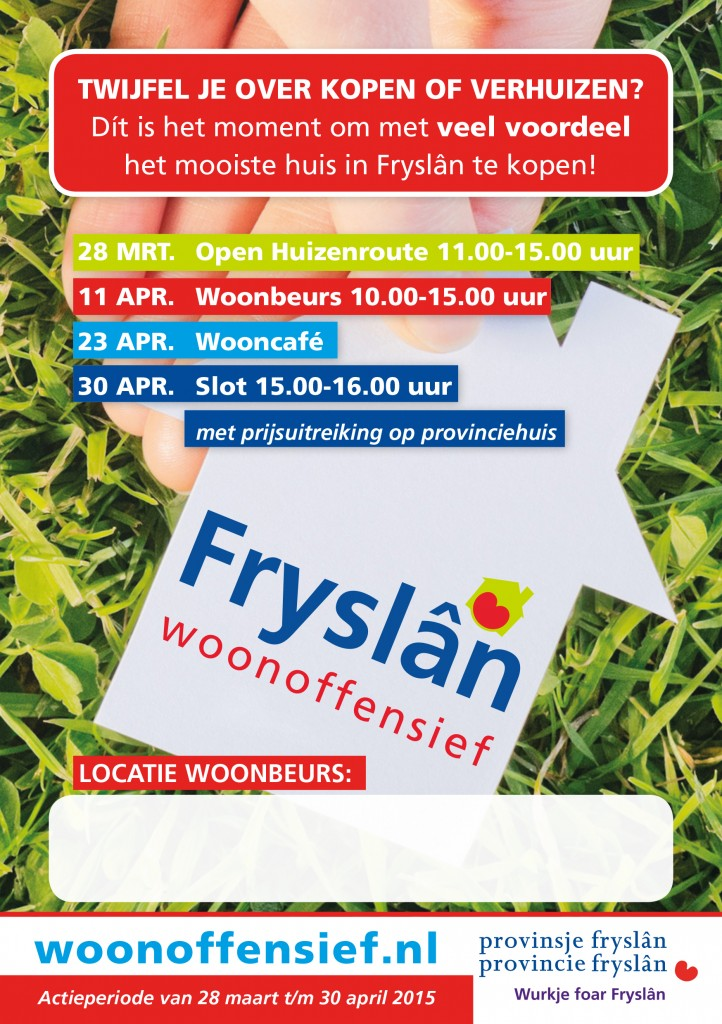 Flyer A5 Woonoffensief 2015